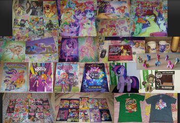 My Little Pony Collection - March 2019 by SyncedsArt