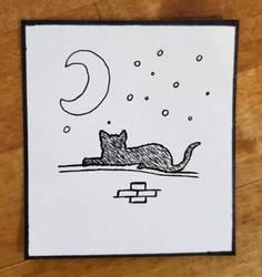 Inktober 2020 Cat