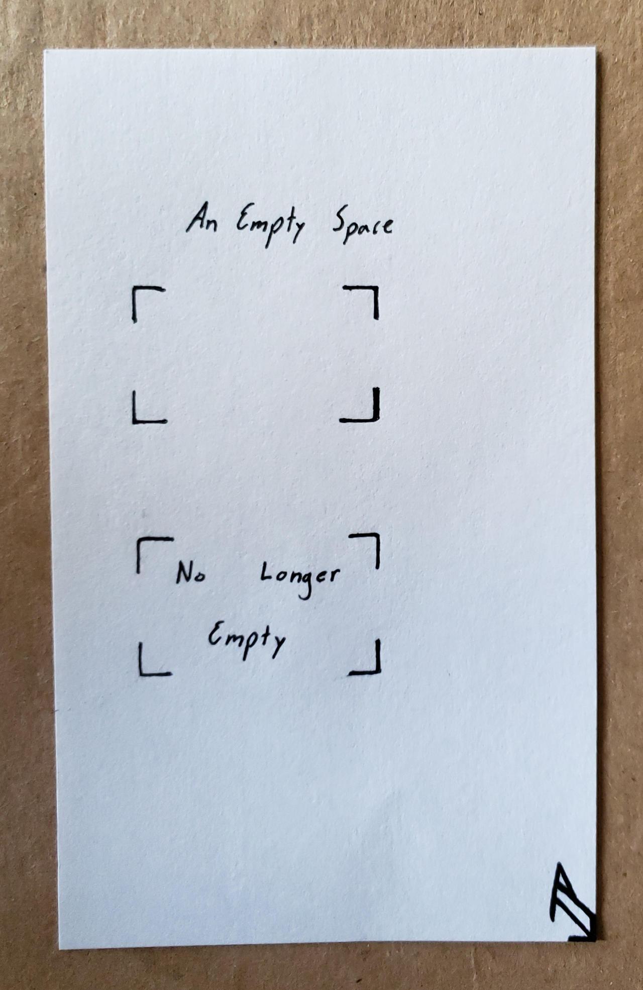 No Longer Empty