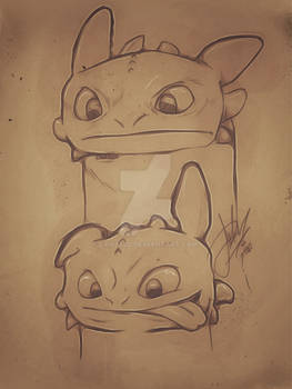 Toothless...