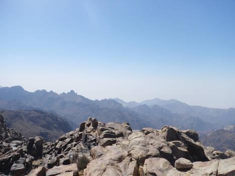 rock mountain stock