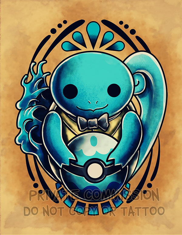 Squirtle Pokemon Tattoos Tribal Images | Pokemon Images