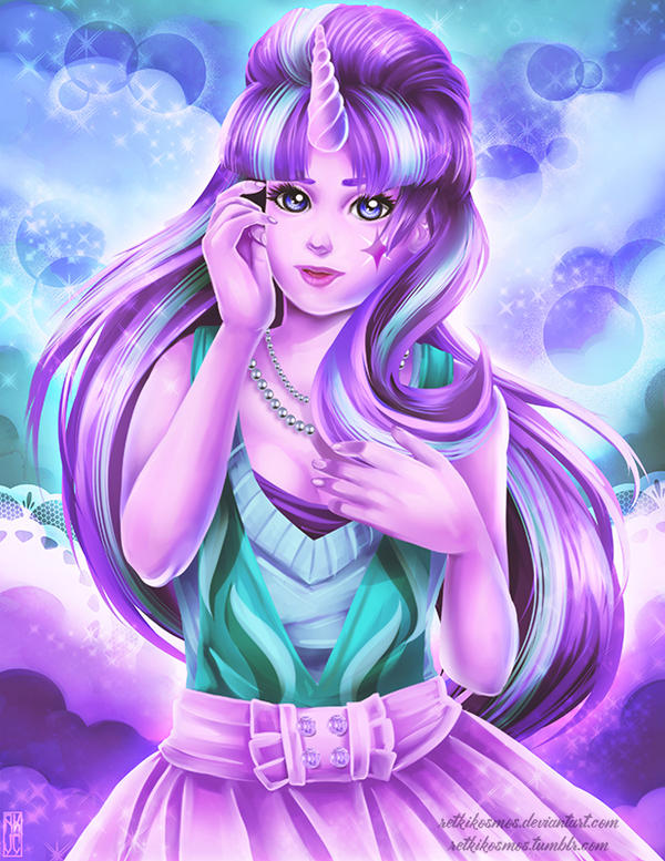 mlp  starlight glimmer by retkikosmos on deviantart