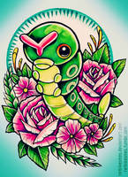 Caterpie by RetkiKosmos