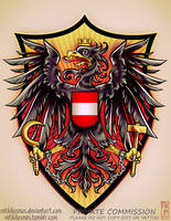 Austrian Coat of Arms Commission by RetkiKosmos