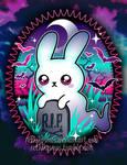 Spooky Bunny Ghost