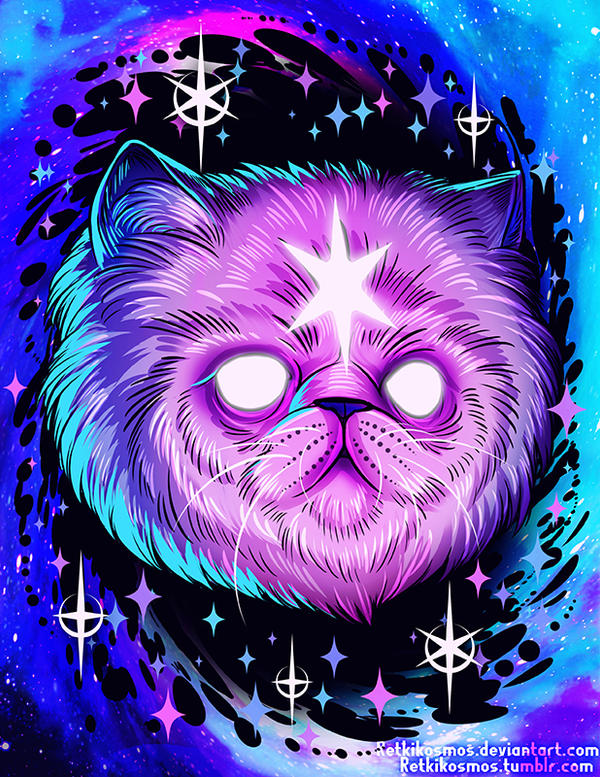 Black Hole Cat by RetkiKosmos on DeviantArt