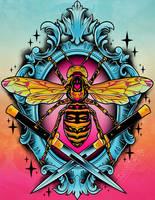 Giant Hornet by RetkiKosmos