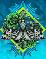 Leopard Moth by RetkiKosmos