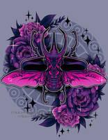 Atlas Beetle by RetkiKosmos