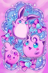 Jiggly Family by RetkiKosmos