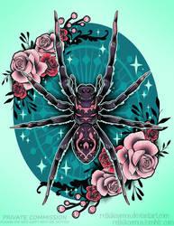 Spider Commission by RetkiKosmos