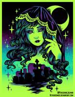 Grave Spirit Color by RetkiKosmos