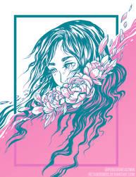 Flower Tears by RetkiKosmos