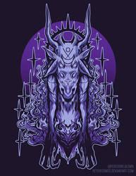Goat Creature by RetkiKosmos