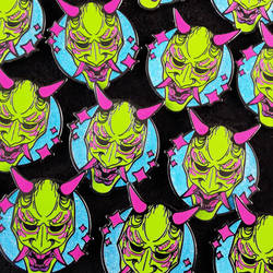 Hanya Mask Pin Design by RetkiKosmos