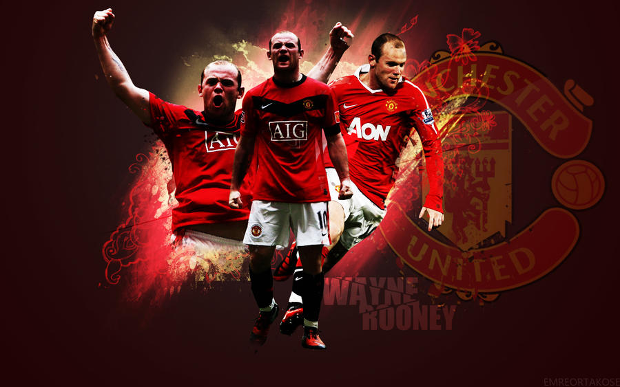 Wayne Rooney Manchester United Wallpaper By Emreortakose