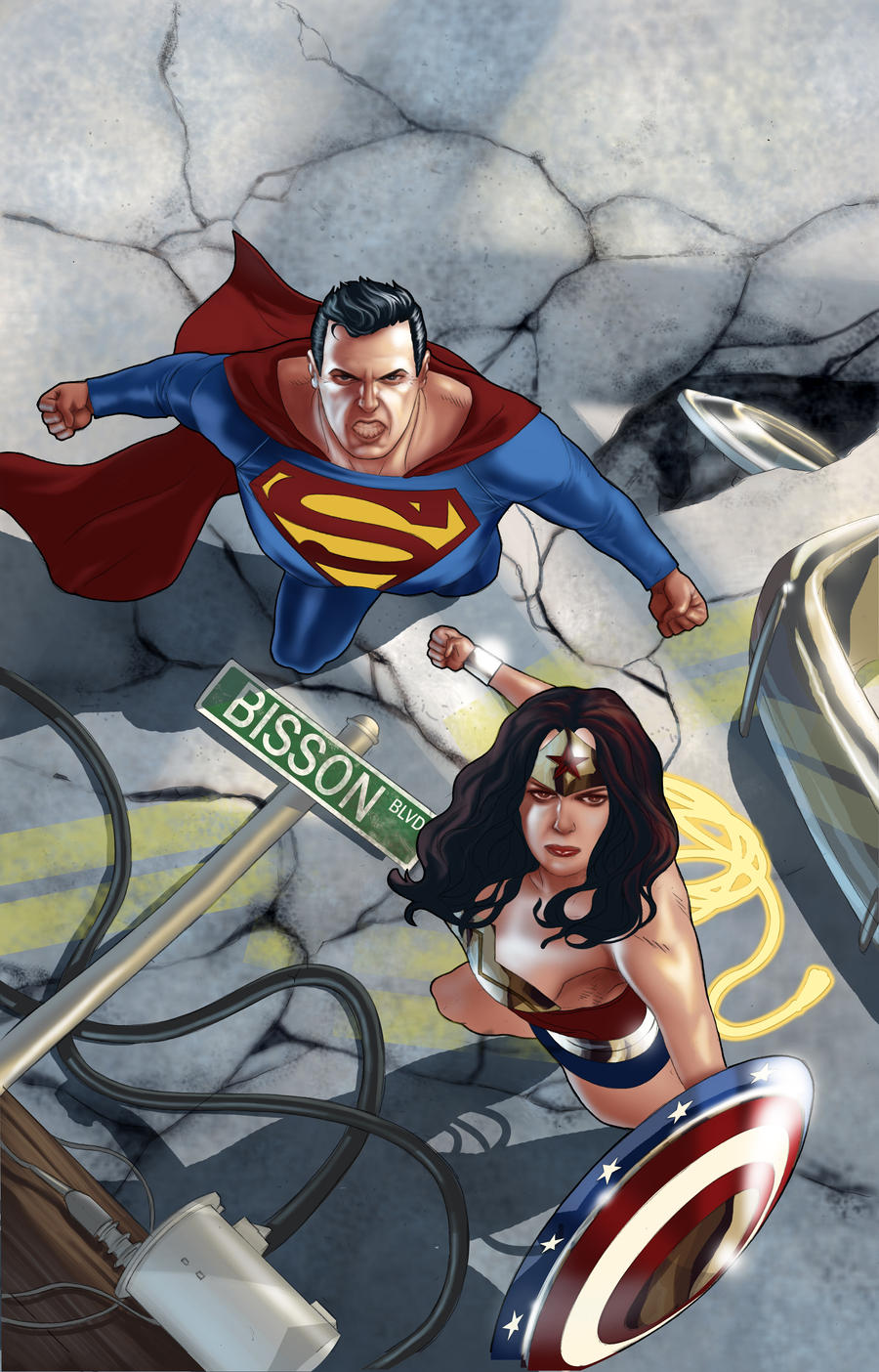 superman and me and daughter of Reddit: the front page of daughter of justice, superman and batman part 2 here it is, part two of my translation of batman v superman.