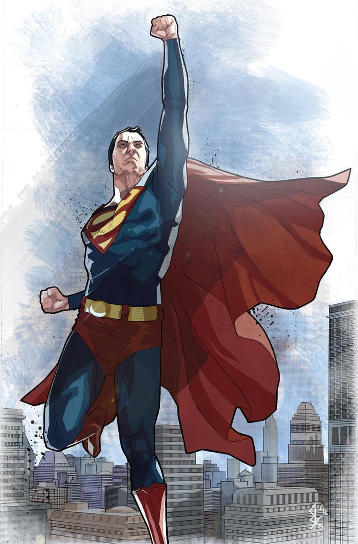 Superman by benttibisson