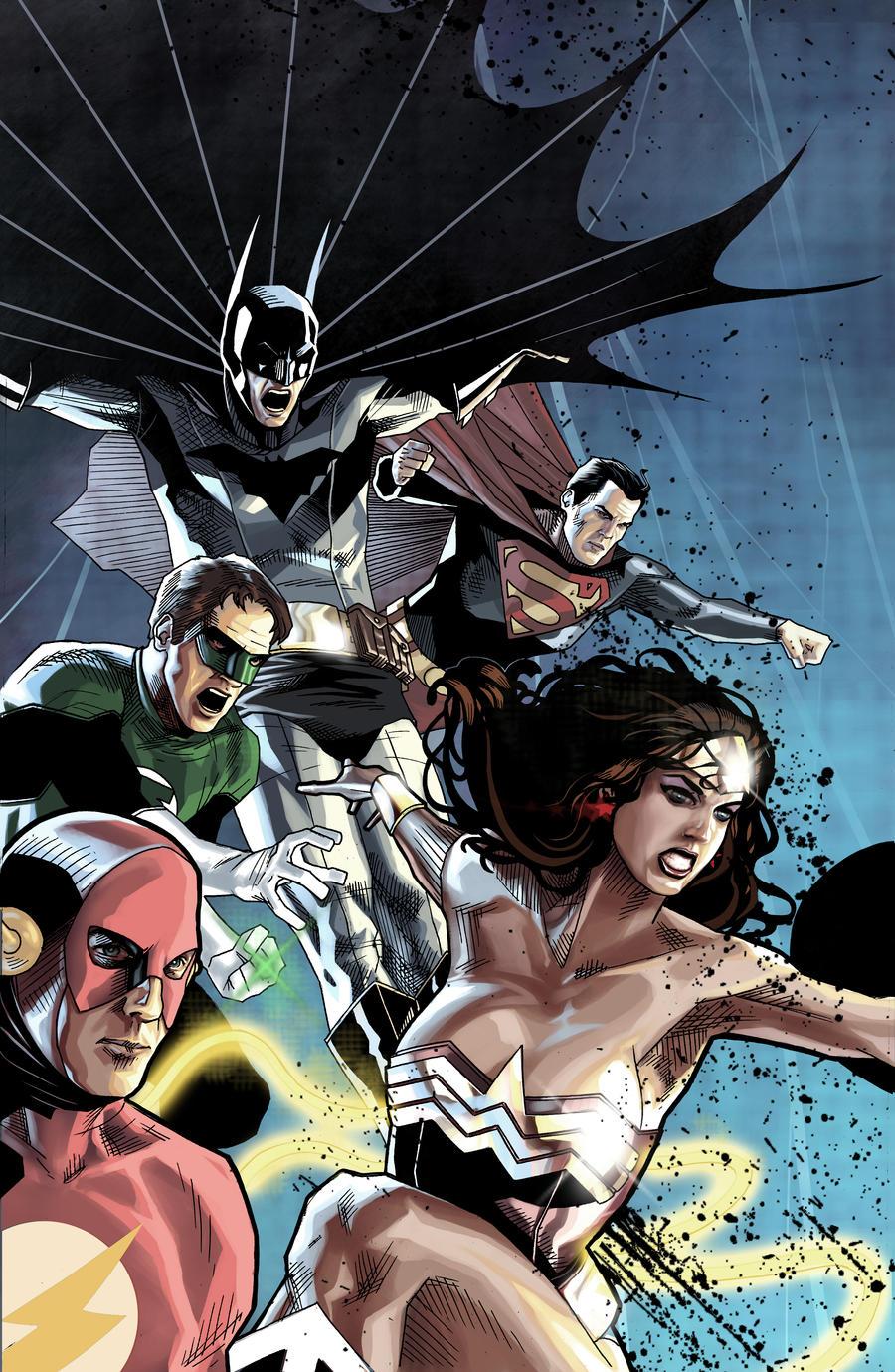 Justice League version 2 by benttibisson