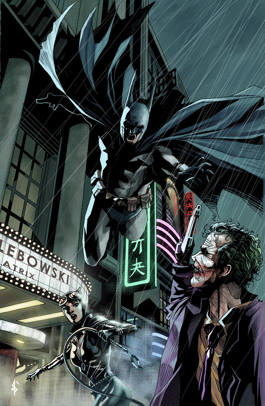 Batman by benttibisson