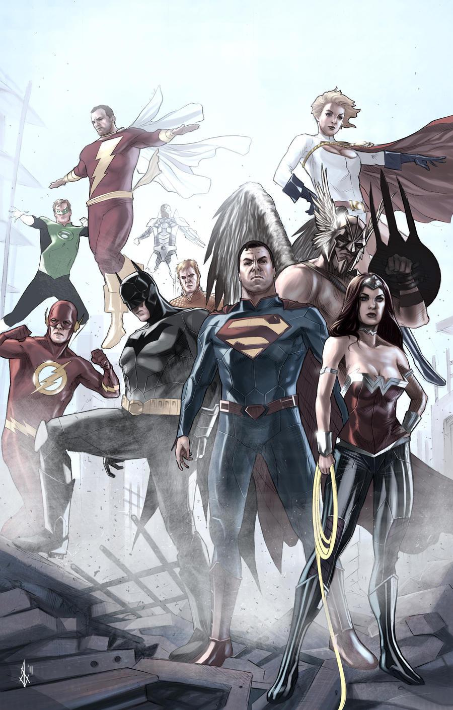 Justice League New 52 Wallpaper