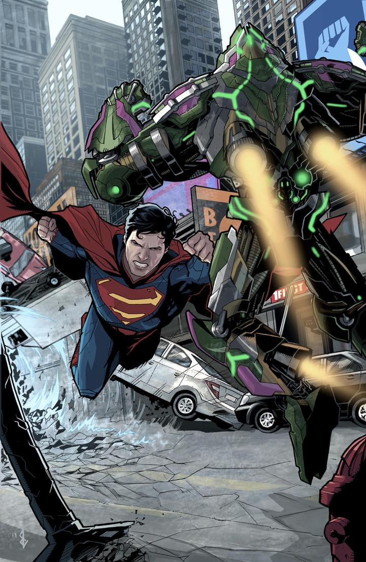 superman versus lex by benttibisson