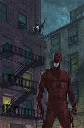 Daredevil and the Punisher in Hell's Kitchen