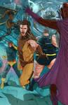 Classic X Men VS the Brotherhood of Evil Mutants