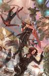 Avengers VS Mechs Painted