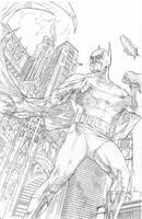 Batman Pencils by benttibisson