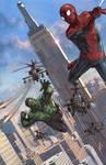 Hulk Spiderman Painted