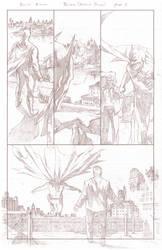 Batman Arkham Breakout Pencils page 2 by benttibisson