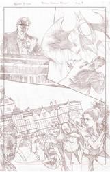 Batman Arkham Breakout Pencils page 3 by benttibisson