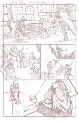 Batman Arkham Breakout Pencils page 6 by benttibisson