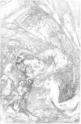 some pencils from the Journey to Adventure Ashcan by benttibisson