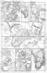 some pencils from the Journey to Adventure Ashcan
