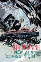 Blue Morning Promo poster art