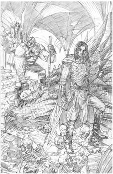 Bentti Bisson Journey to Adventure Cover pencils