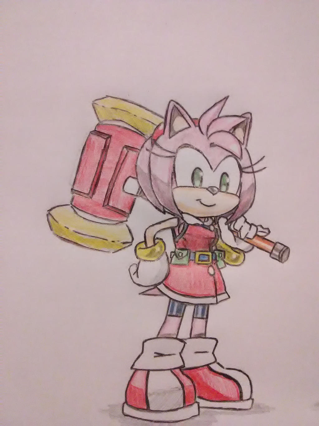 Amy Rose Hedgehog Universe 727 By Blue727 On Deviantart