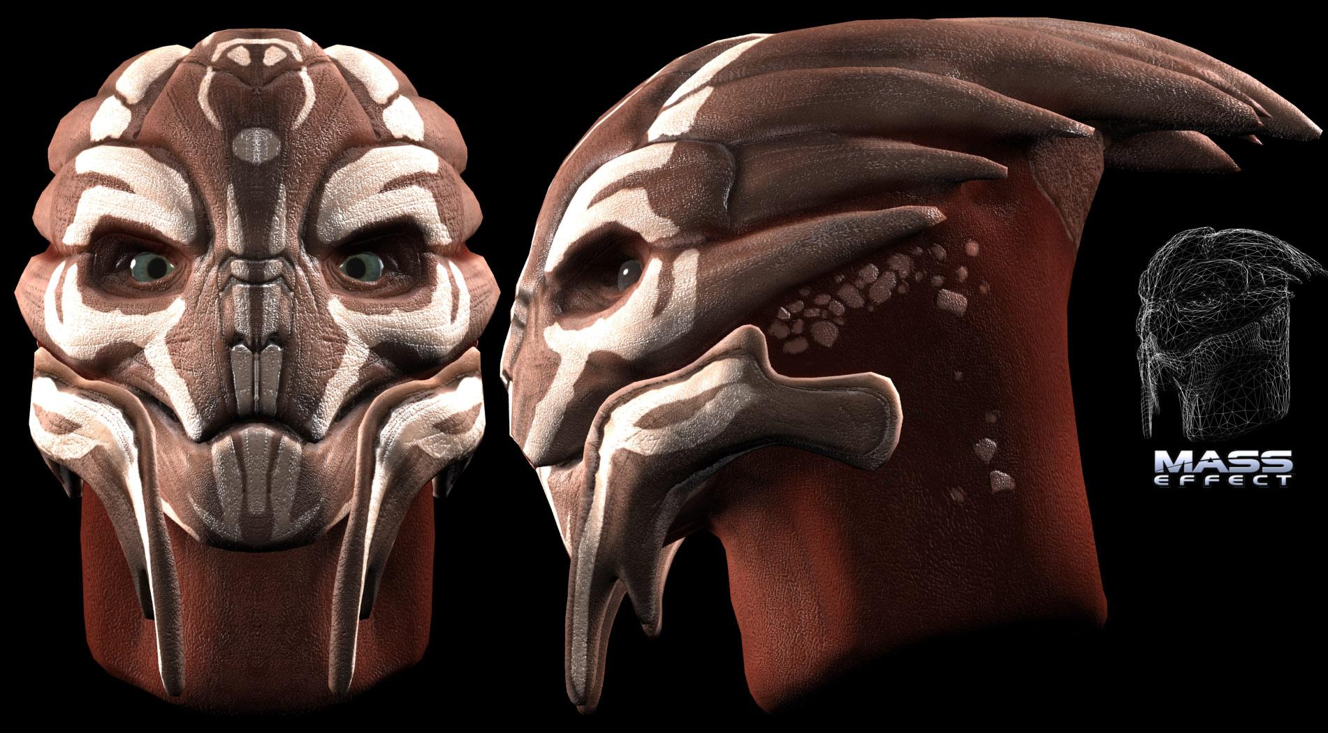 Mass Effect Concept Art Turian Traffic Club