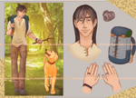 [CLOSED] Adopt auction: two good boys by Kudzeram