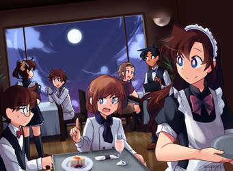 Detective Conan Cafe by gogopri