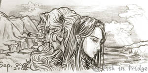 End of First Age (Maedhros and Maglor)