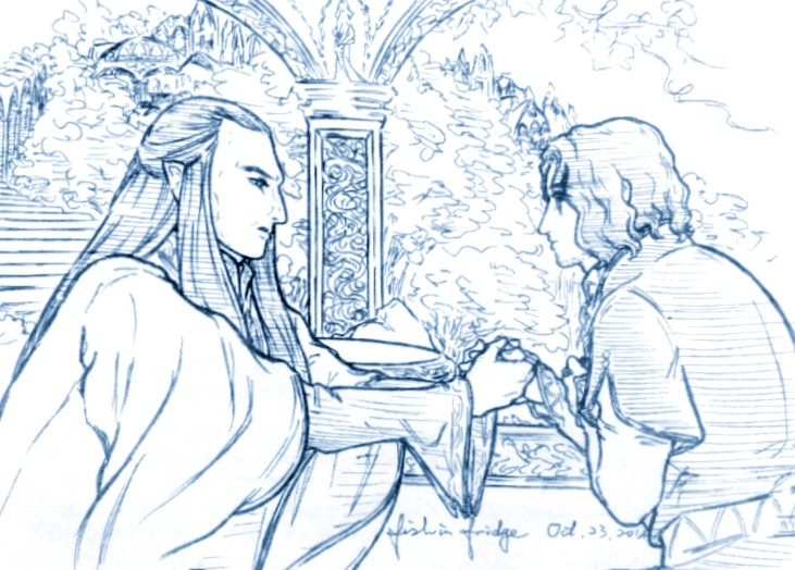 Elrond's Request by fish-in-fridge