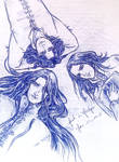 Elros, Elrond and Maglor by fish-in-fridge