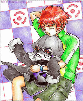 [APPMON] Yuujin and Offmon