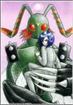 [Digimon Adventure 02] Ken and Stingmon