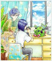 [Digimon Adventure 02] Soap Bubbles