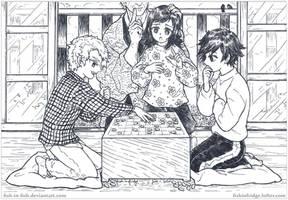 [Demon Slayer] A Game of Shougi